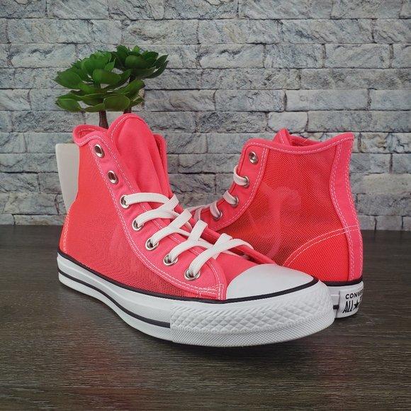 Converse Ctas See Thru Racer Pink